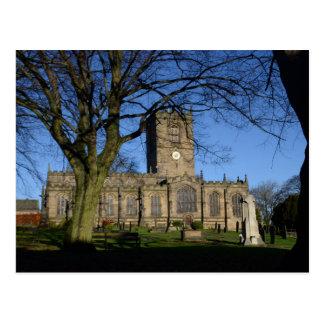 L'église Ecclesfield. de St Mary Carte Postale