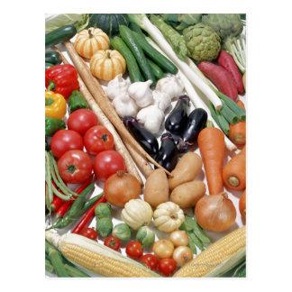 Légumes 6 carte postale