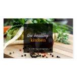 Légumes frais approvisionnant ou carte de visite d