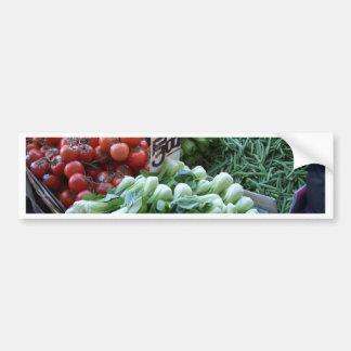 Légumes frais CricketDiane de marché en plein air Autocollants Pour Voiture