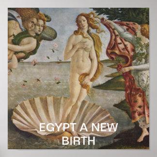 L'EGYPTE UNE NOUVELLE NAISSANCE POSTER