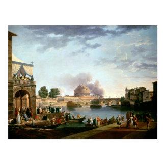 L'élection du pape avec le St de Castel Carte Postale
