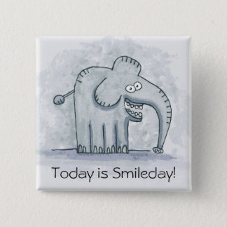 L'éléphant de motivation drôle est aujourd'hui badges