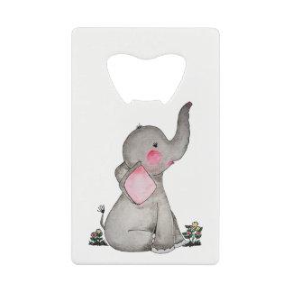 L'éléphant mignon de bébé d'aquarelle avec