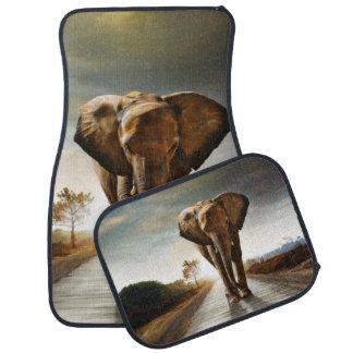 L'éléphant Tapis De Sol