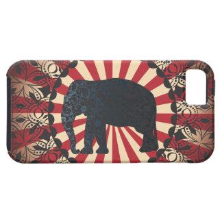 L'éléphant vintage de cirque de Stella libèrent la Coque Case-Mate iPhone 5
