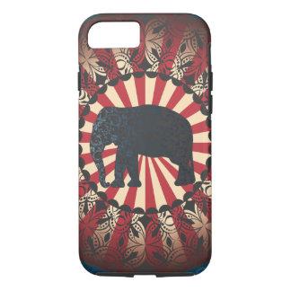 L'éléphant vintage de cirque de StellaRoot Coque iPhone 7