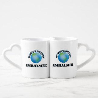 L'embaumeur le plus chaud du monde set tasses duo