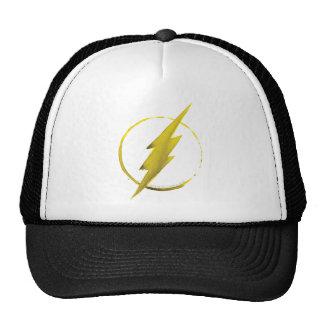 L'emblème   jaune instantané de coffre casquettes