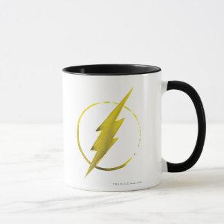 L'emblème | jaune instantané de coffre mug