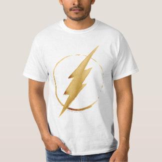 L'emblème | jaune instantané de coffre t-shirt