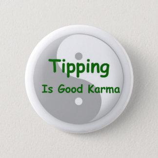 L'emboutage est bon bouton de karma badge