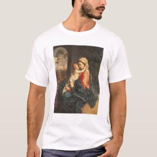 L'embrassement de Vierge et d'enfant T-shirt