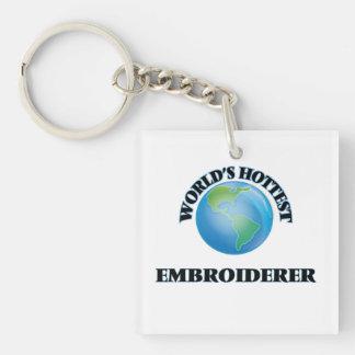 L'Embroiderer le plus chaud du monde Porte-clé