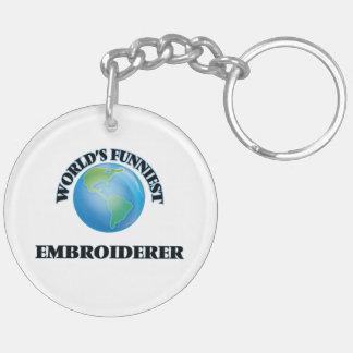 L'Embroiderer le plus drôle du monde Porte-clefs
