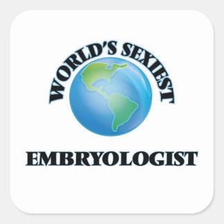 L'Embryologist le plus sexy du monde Sticker Carré