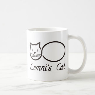 lemniscate le chat de lemni mug