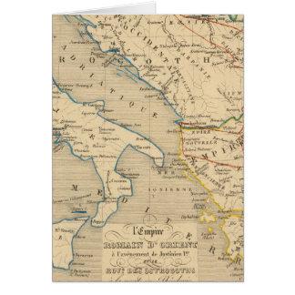 L'Empire Romain d'Orient, DES Ostrogoths de Roye Carte De Vœux