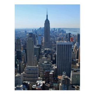 L'Empire State Building et l'horizon de New York Cartes Postales