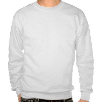 L'encolure ras du cou animale des hommes sweatshirts