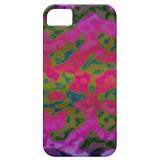 L'encre colorée fraîche éponge le coque iphone iPhone 5 case