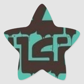 L'endroit le plus lointain sticker étoile