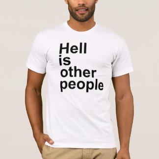 L'enfer est l'autre T-shirt de personnes [police