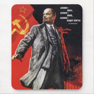 Lénine - communiste russe tapis de souris
