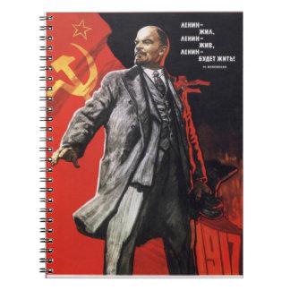 Lénine vit carnet