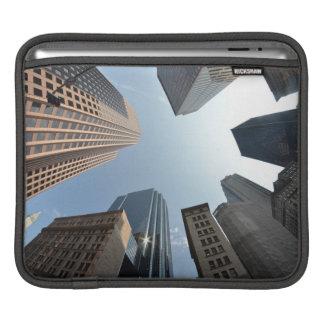 lentille de Poisson-oeil du bâtiment, Boston, USA Poches Pour iPad