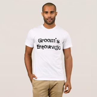 L'entourage du marié t-shirt