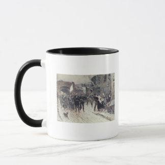 L'entrée dans Belfort du commandant allemand Mug