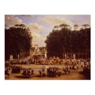L'entrée du napoléon et de la Marie-Louise Cartes Postales