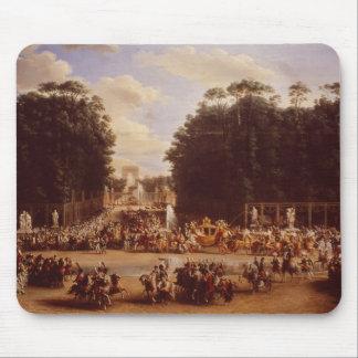 L'entrée du napoléon et de la Marie-Louise Tapis De Souris