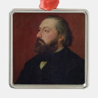 Léon Gambetta 1875 Ornement Carré Argenté