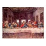 Leonardo da Vinci - le dernier dîner Carte Postale