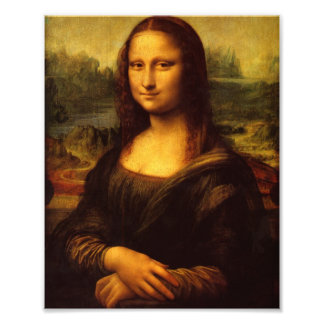Leonardo da Vinci Mona Lisa Art Photographique
