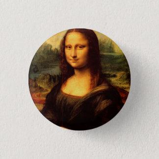 LEONARDO DA VINCI - Mona Lisa, La Gioconda 1503 Badge