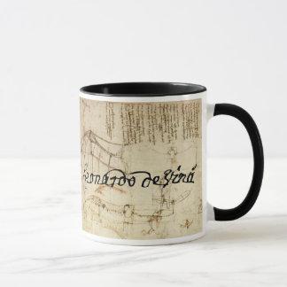 Leonardo sur l'art mugs