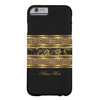 léopard chic élégant la Floride de noir d'or de ca