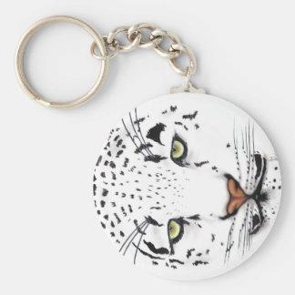 Léopard de neige porte-clef