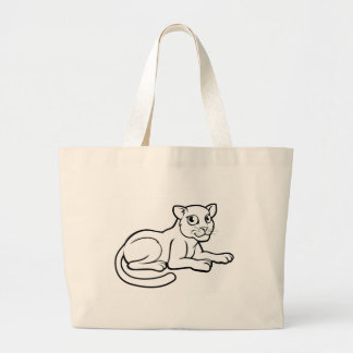 Léopard Jaguar ou panthère Grand Tote Bag