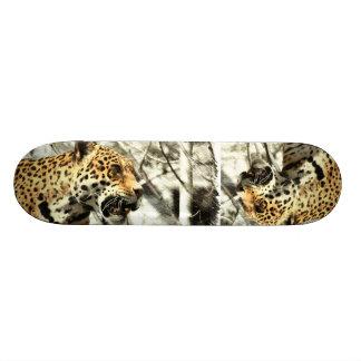 léopard moderne chic de safari de l'Afrique Plateaux De Skate