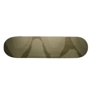 Léopard moderne skateboard old school  21,6 cm