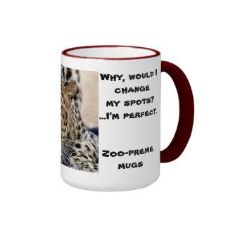 léopard mug ringer