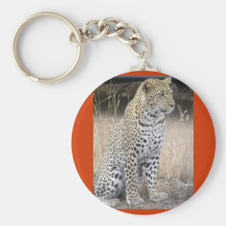 léopard porte-clé