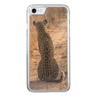 Léopard se reposant dans la route, Afrique Coque Carved Pour iPhone 7