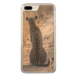 Léopard se reposant dans la route, Afrique Coque Carved Pour iPhone 7 Plus