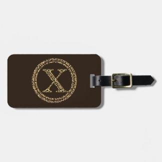 Léopard X Étiquettes Bagages