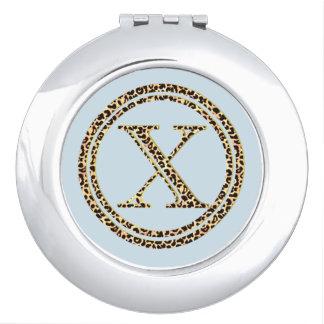 Léopard X Miroir Compact